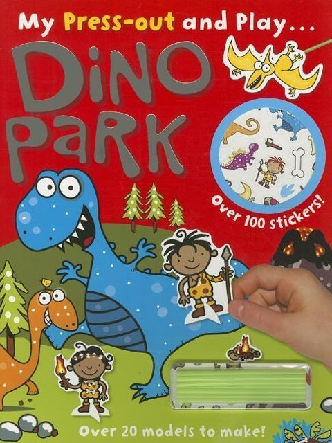 Press-Out and Play Dino Park als Taschenbuch