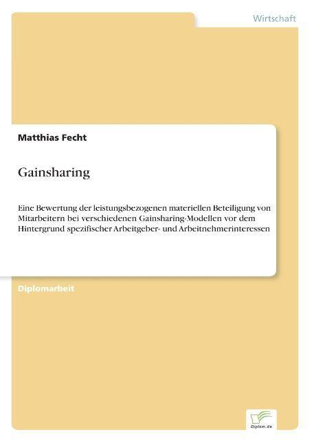 Gainsharing als Buch (gebunden)