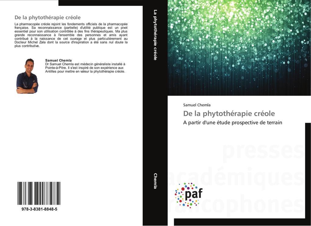 De la phytothérapie créole als Buch (gebunden)