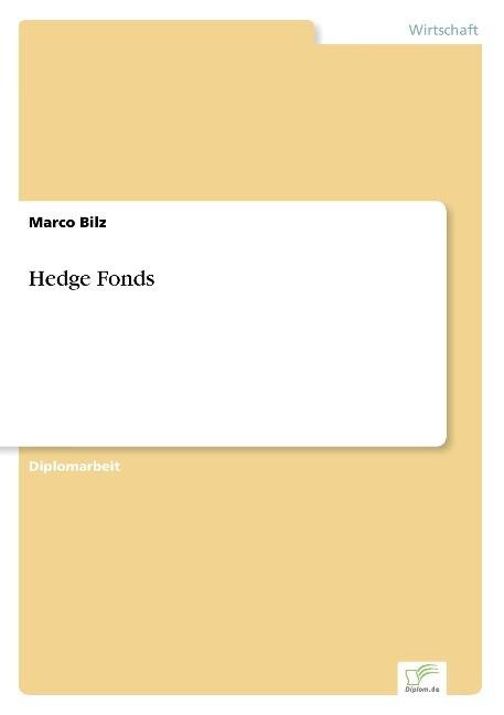 Hedge Fonds als Buch (gebunden)