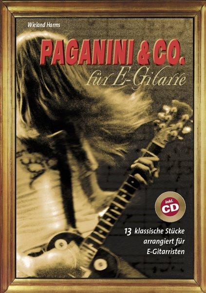 Paganini und Co. für E-Gitarre als Buch