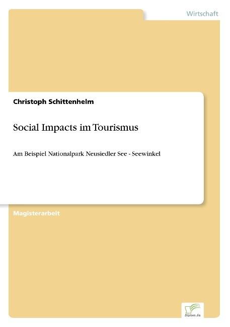 Social Impacts im Tourismus als Buch von Christ...