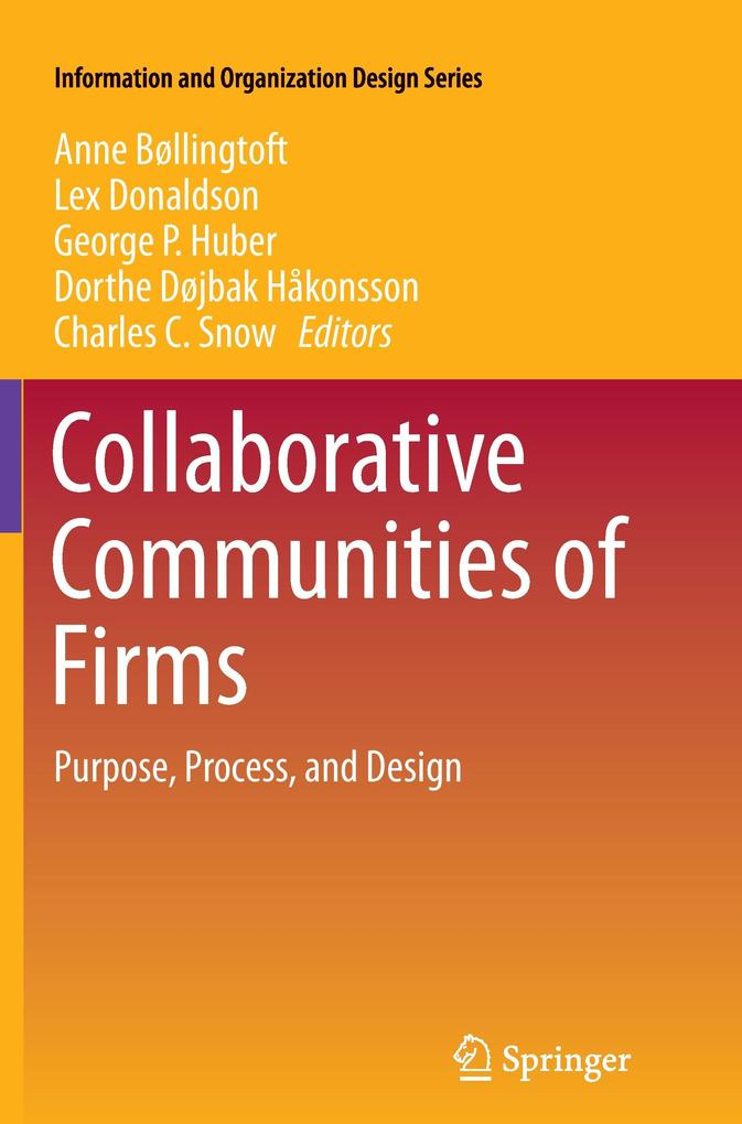 Collaborative Communities of Firms als Buch von