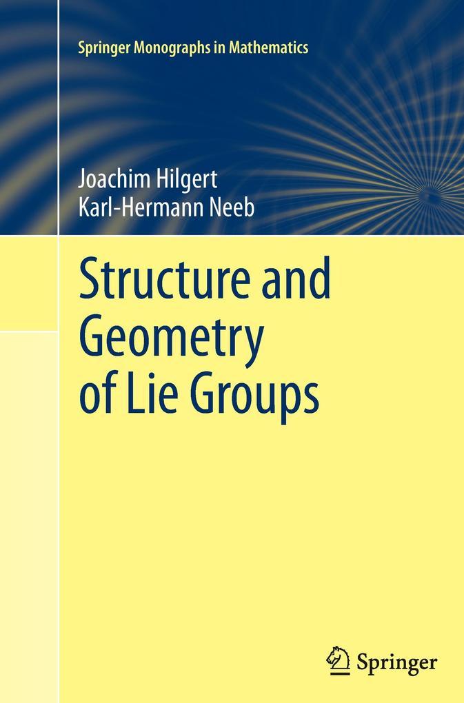 Structure and Geometry of Lie Groups als Buch (gebunden)