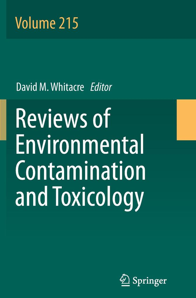 Reviews of Environmental Contamination and Toxicology als Buch (gebunden)