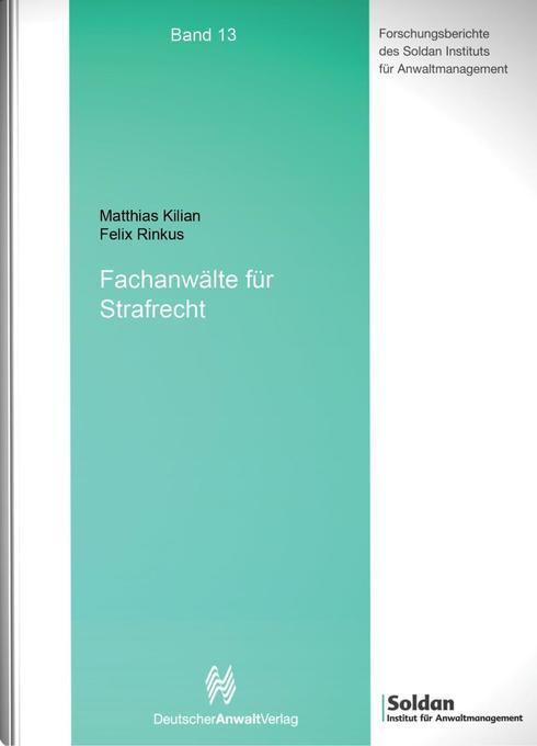 Fachanwälte für Strafrecht als Buch von Matthia...
