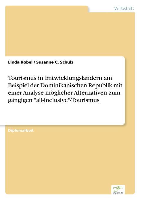 Tourismus in Entwicklungsländern am Beispiel de...