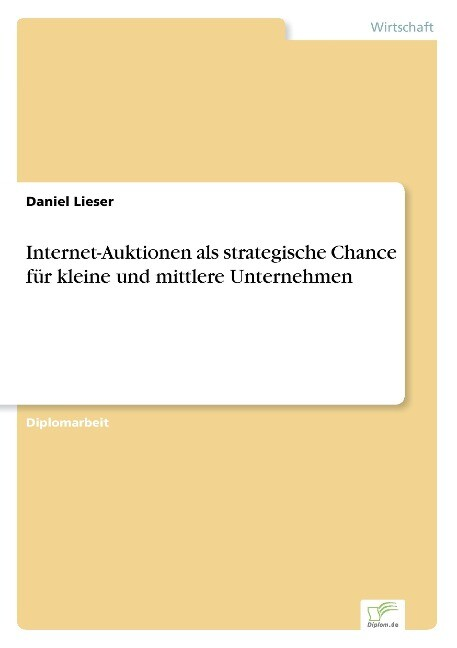 Internet-Auktionen als strategische Chance für ...