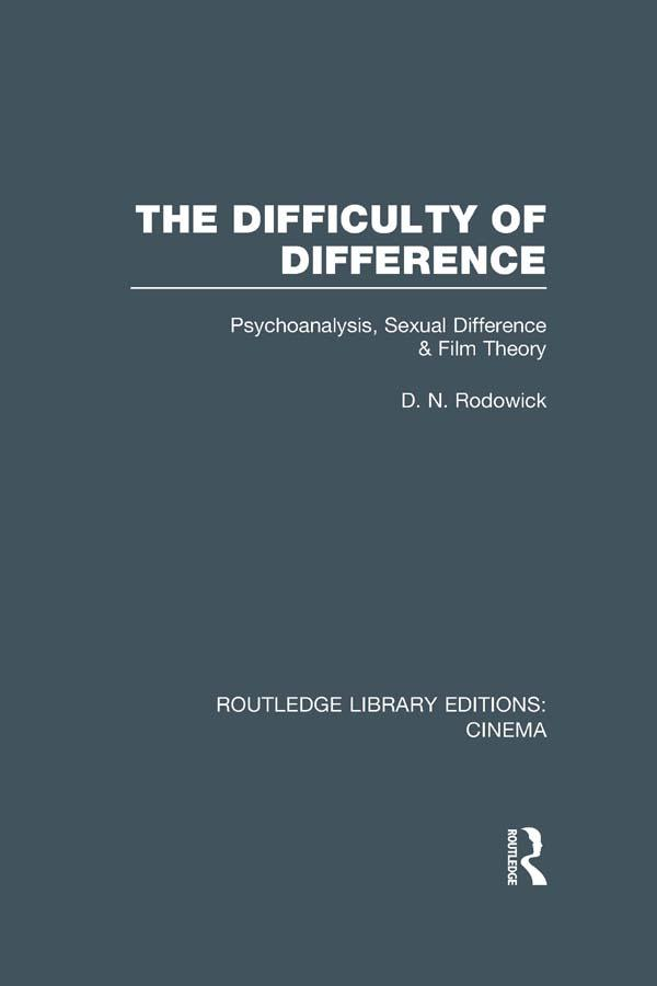The Difficulty of Difference als eBook epub