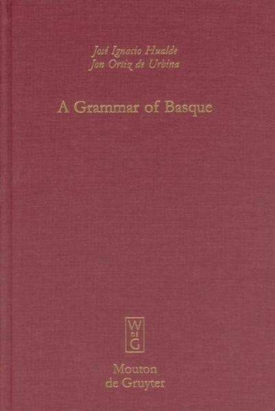 A Grammar of Basque als Buch