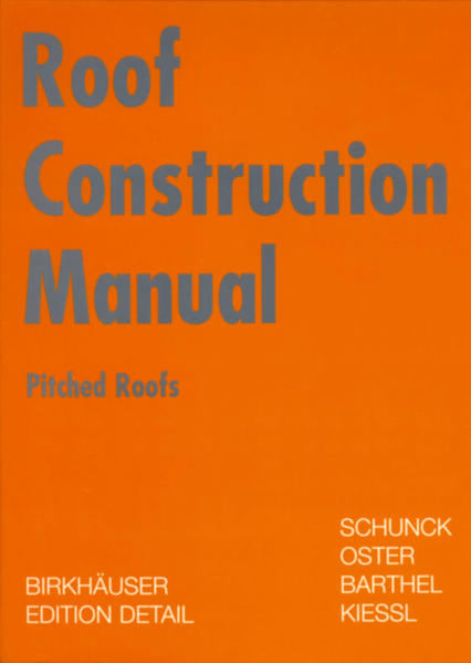 Roof Construction Manual als Buch