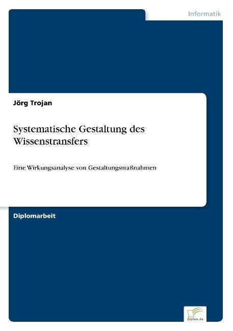 Systematische Gestaltung des Wissenstransfers a...