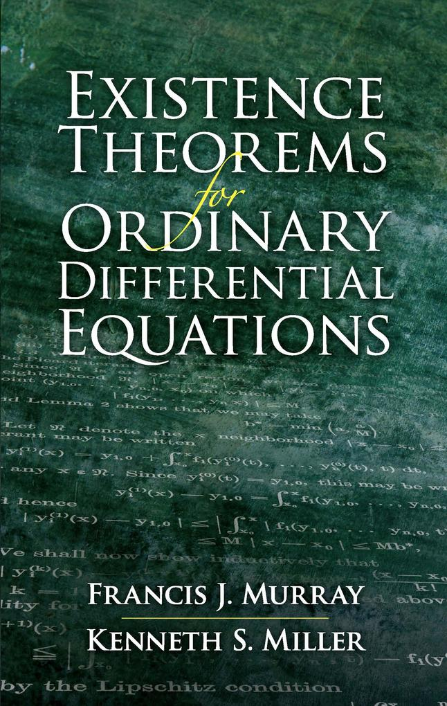 Existence Theorems for Ordinary Differential Equations als eBook epub