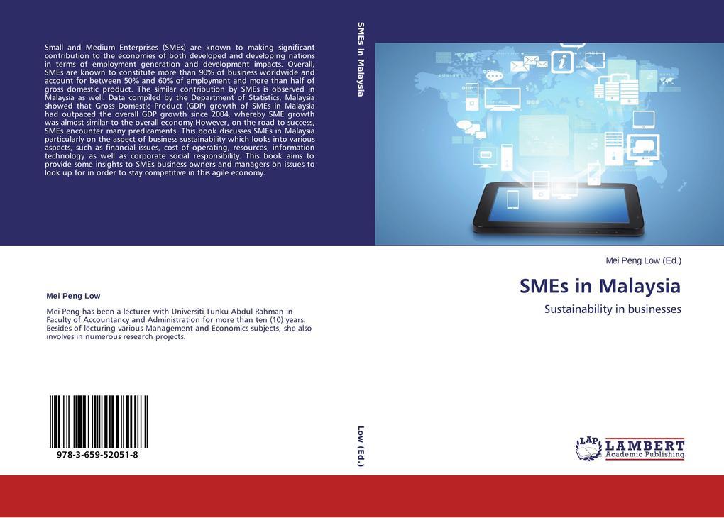 SMEs in Malaysia als Buch von