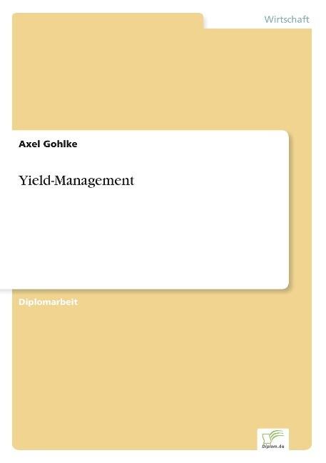 Yield-Management als Buch (gebunden)
