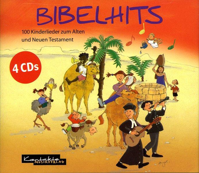 Bibelhits. 4 CDs als Hörbuch