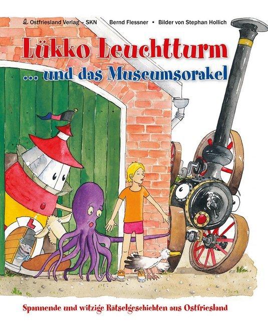 Lükko Leuchtturm und das Museumsorakel als Buch (gebunden)