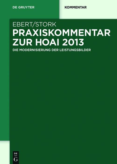Praxiskommentar zur HOAI 2013 als eBook pdf