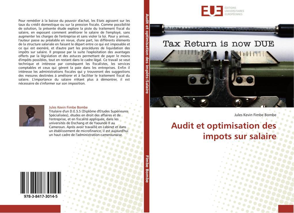 Audit et optimisation des impots sur salaire als Buch (gebunden)