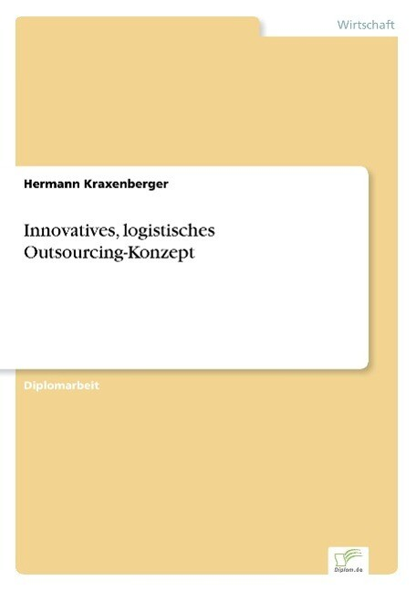 Innovatives, logistisches Outsourcing-Konzept a...