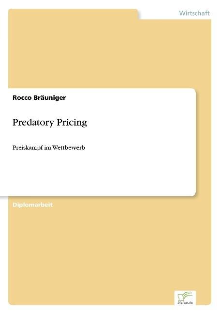 Predatory Pricing als Buch (gebunden)