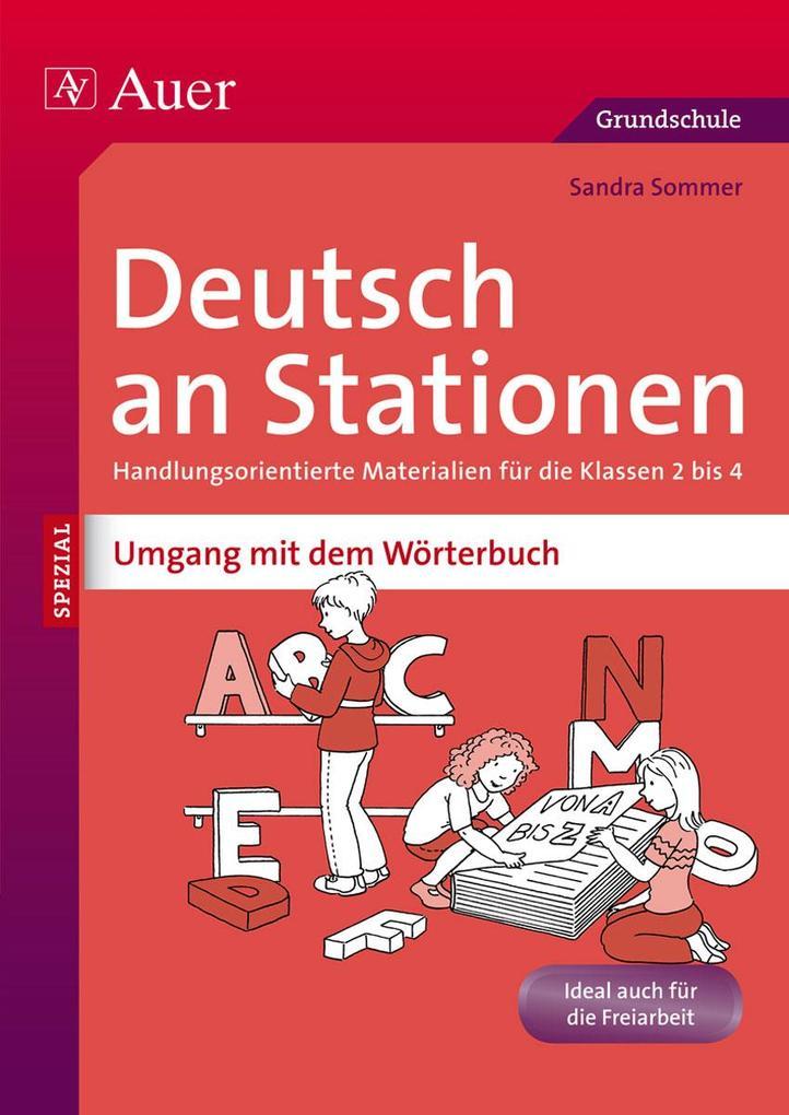 Deutsch an Stationen Umgang mit dem Wörterbuch als Buch (geheftet)