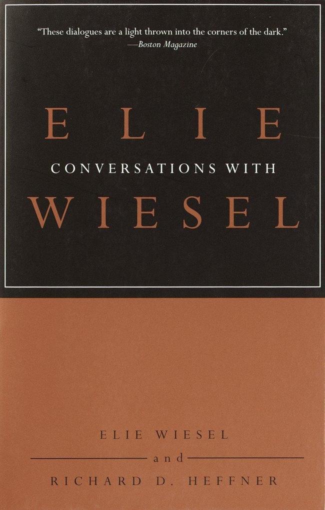 Conversations with Elie Wiesel als Taschenbuch