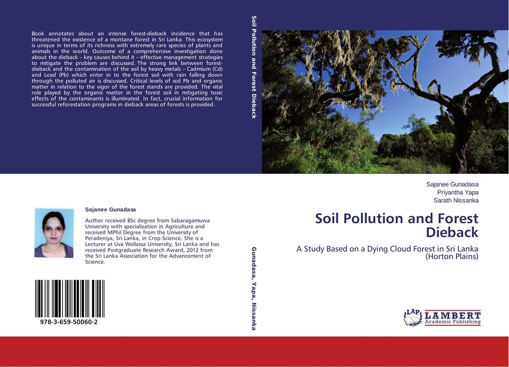 Soil Pollution and Forest Dieback als Buch (gebunden)