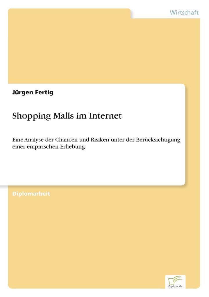 Shopping Malls im Internet als Buch von Jürgen ...