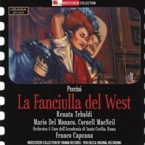 Puccini: La Fanciulla del West als CD