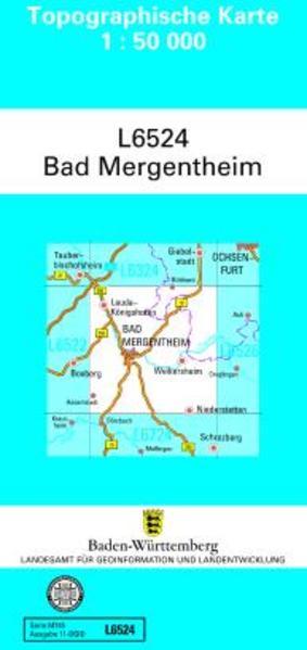 Bad Mergentheim 1 : 50 000 als Buch von