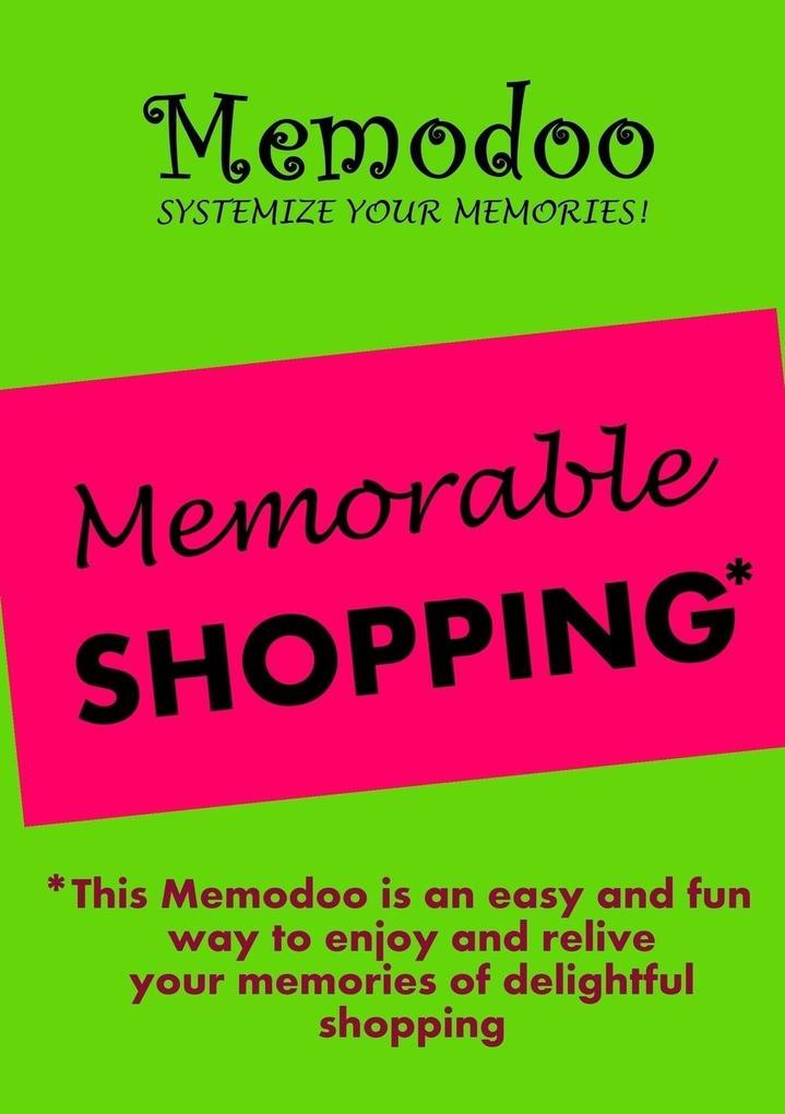 Memodoo Memorable Shopping als Taschenbuch von ...