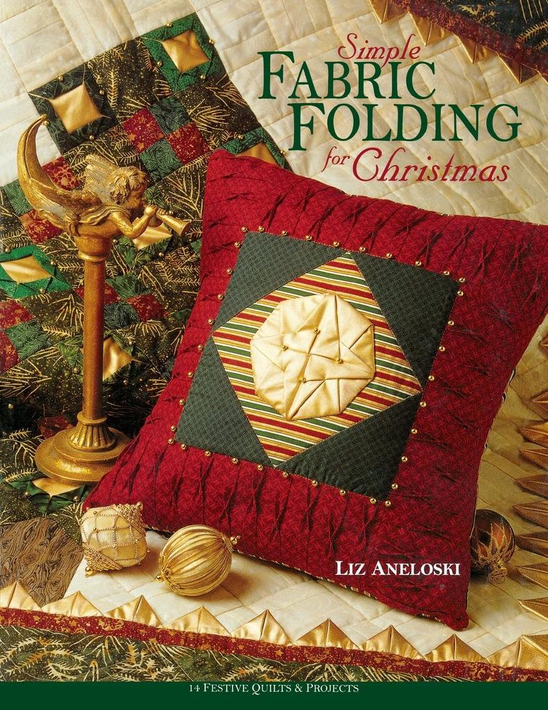 Simple Fabric Folding for Christmas - Print on Demand Edition als Taschenbuch