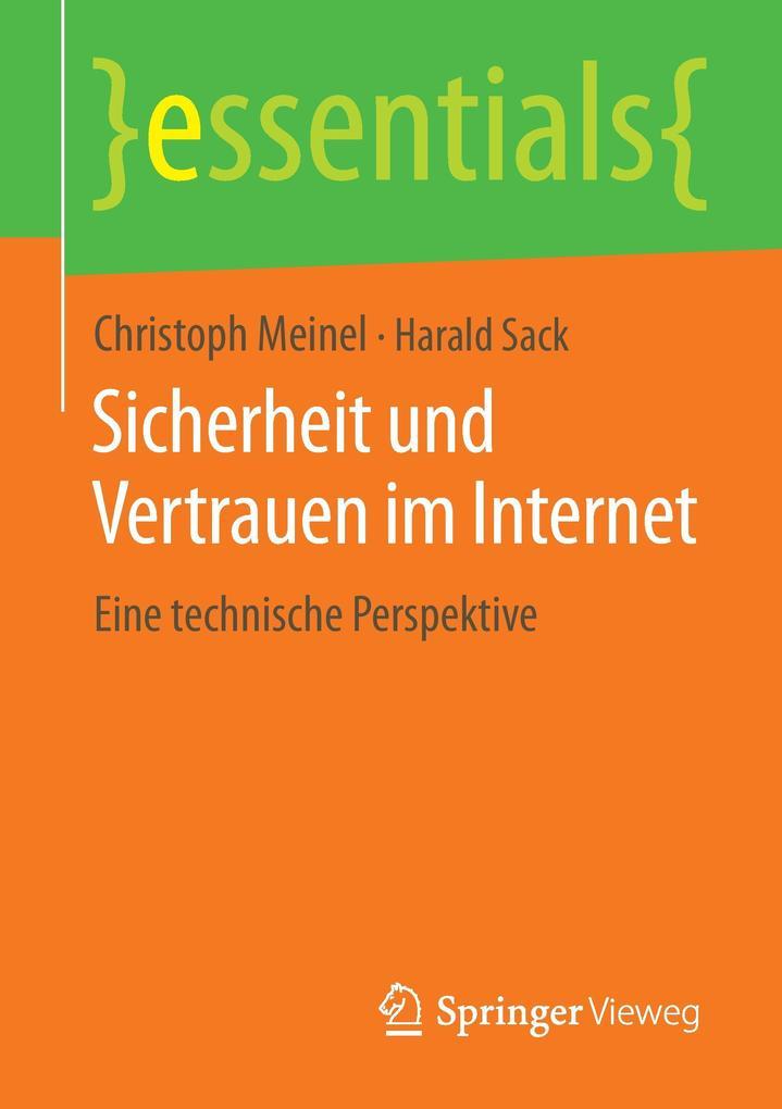 Sicherheit und Vertrauen im Internet als Buch (gebunden)