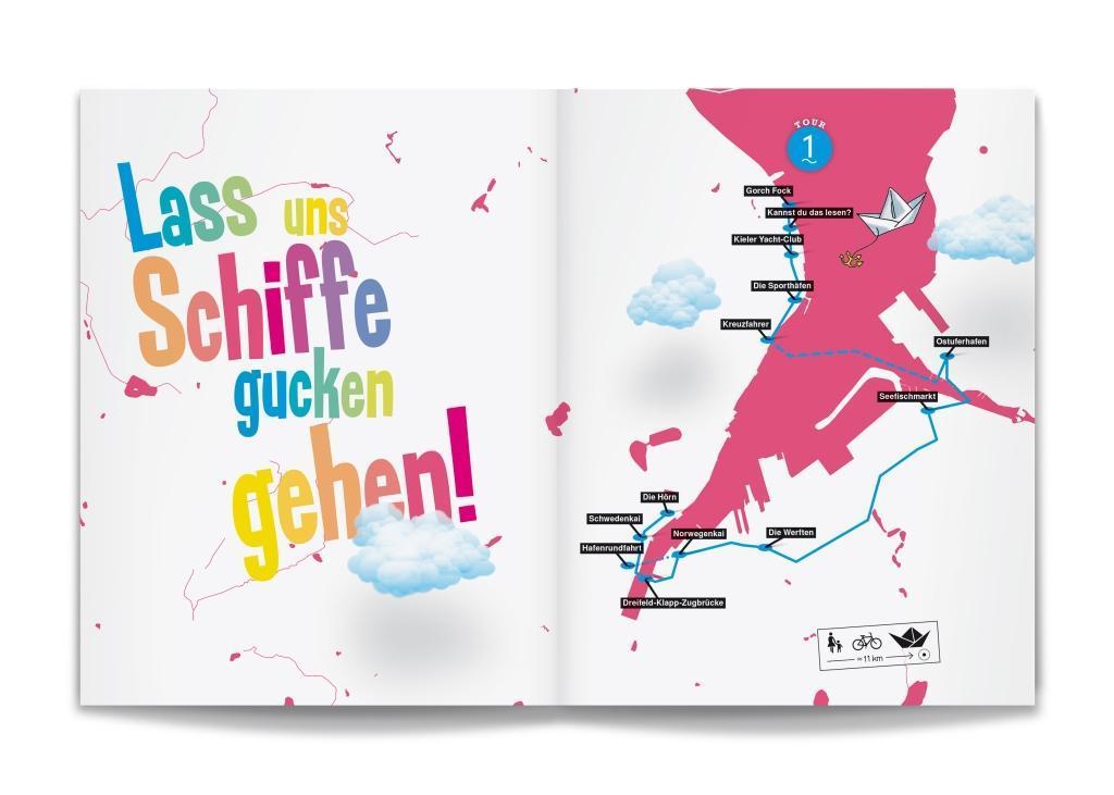 Kiel! Der Kinderstadtführer als Buch von Tim Kl...