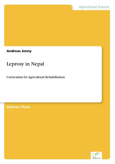 Leprosy in Nepal als Buch von Andreas Jenny