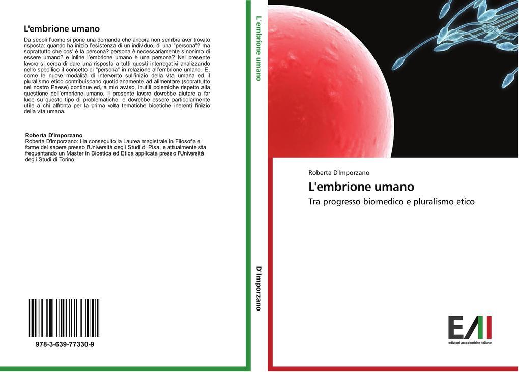 L'embrione umano als Buch (gebunden)