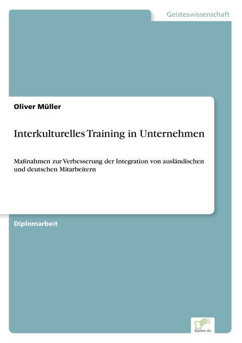 Interkulturelles Training in Unternehmen als Bu...