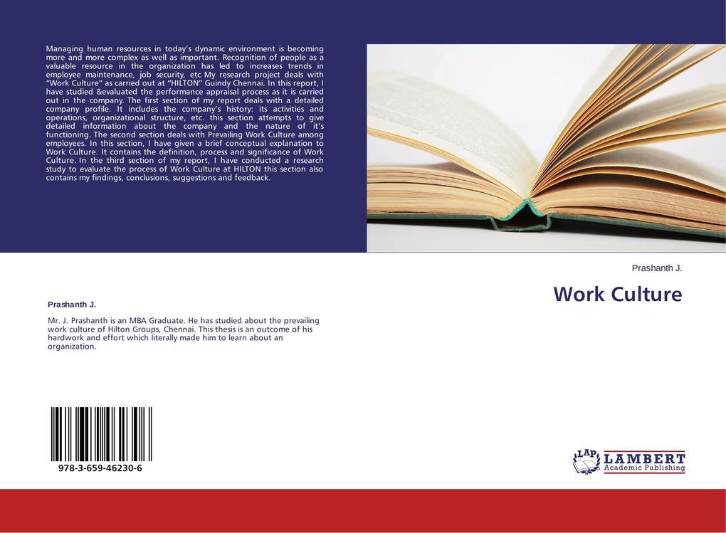 Work Culture als Buch (gebunden)