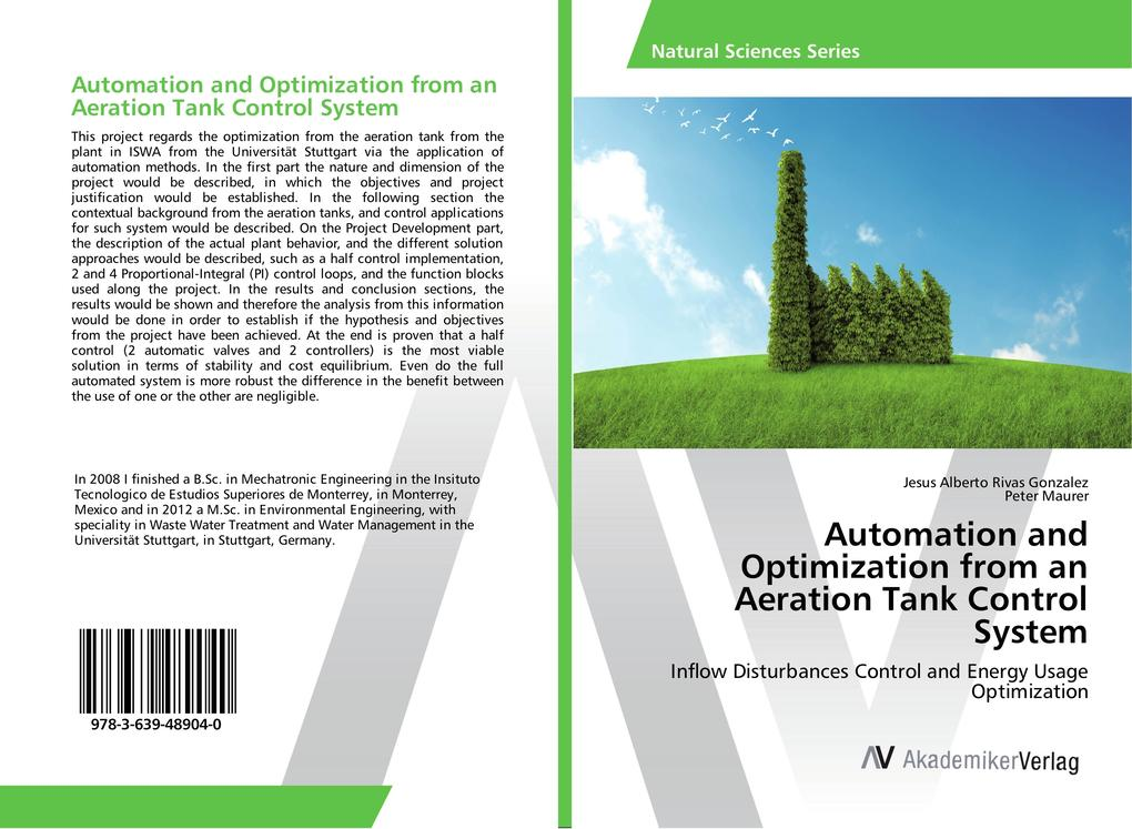 Automation and Optimization from an Aeration Tank Control System als Buch (gebunden)