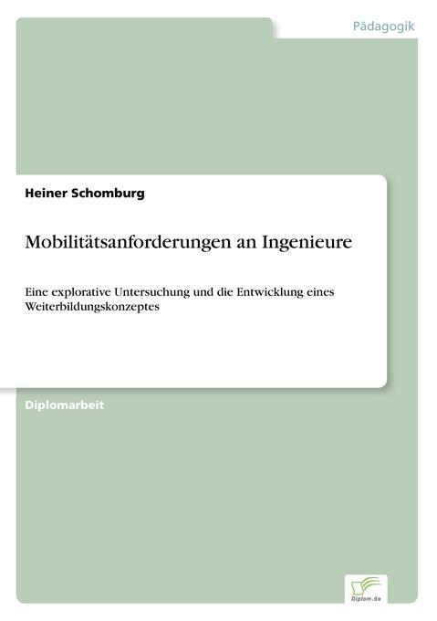 Mobilitätsanforderungen an Ingenieure als Buch ...