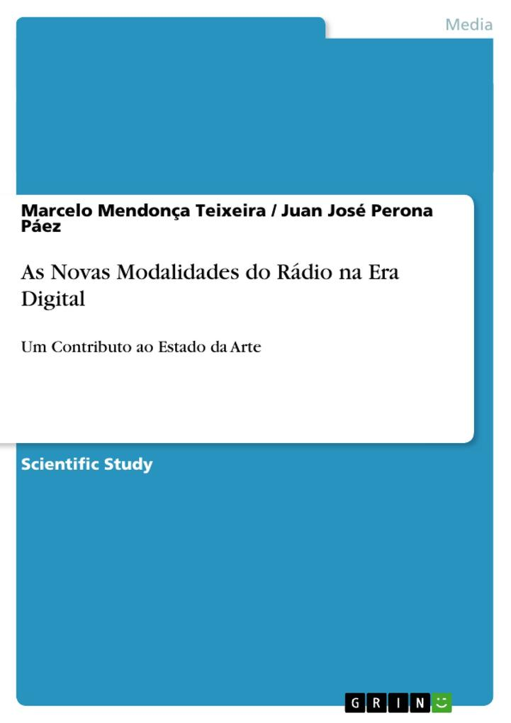 As Novas Modalidades do Rádio na Era Digital als Buch (gebunden)