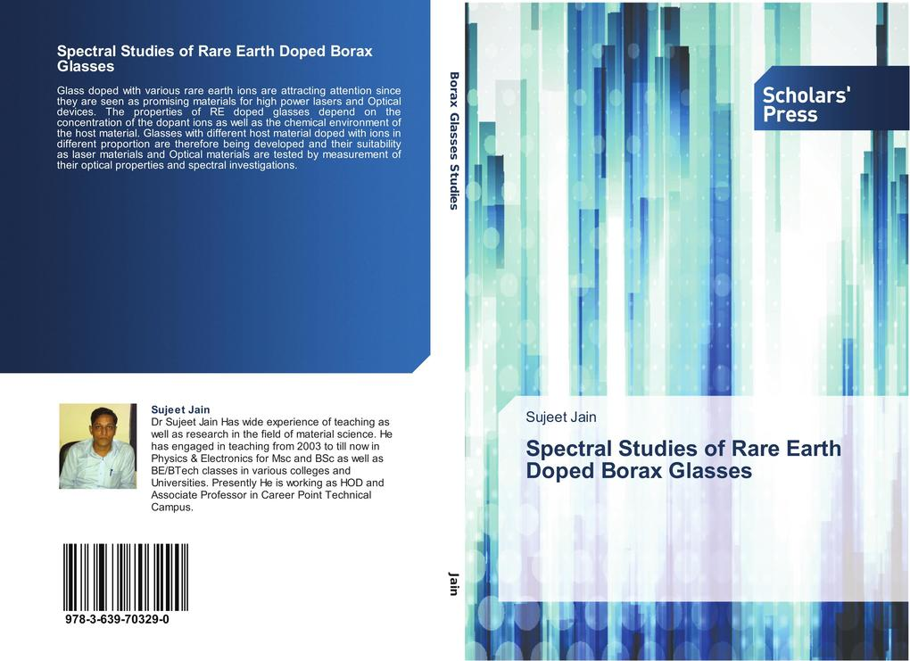 Spectral Studies of Rare Earth Doped Borax Glasses als Buch (gebunden)
