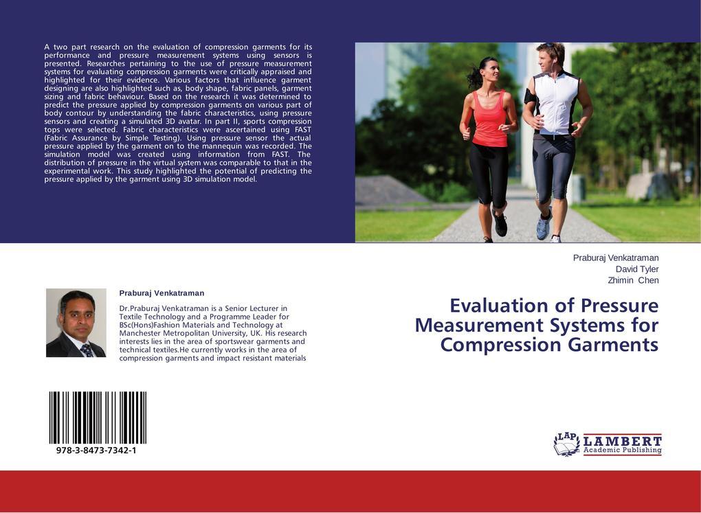 Evaluation of Pressure Measurement Systems for Compression Garments als Buch (gebunden)