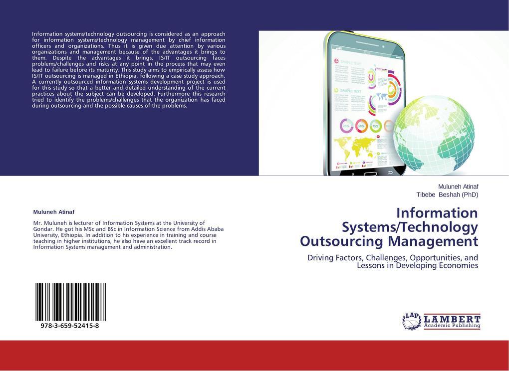 Information Systems/Technology Outsourcing Management als Buch (gebunden)