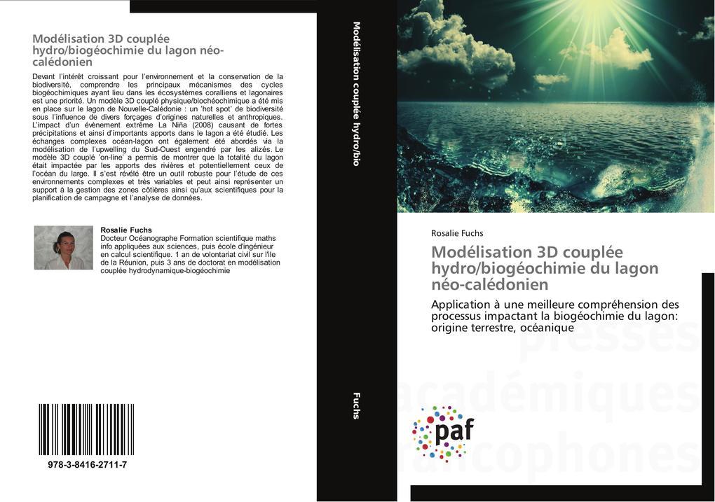Modélisation 3D couplée hydro/biogéochimie du lagon néo-calédonien als Buch (gebunden)