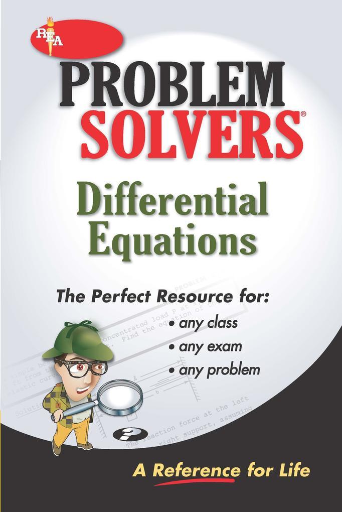 Differential Equations Problem Solver als eBook epub