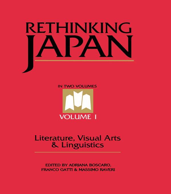 Rethinking Japan Vol 1. als eBook epub