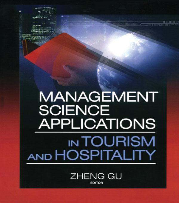 Management Science Applications in Tourism and Hospitality als eBook epub