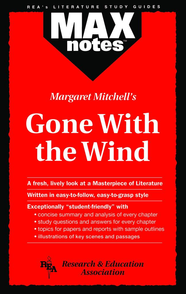 Gone with the Wind (MAXNotes Literature Guides) als eBook epub